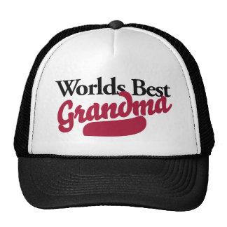 Worlds Best Grandma Cap