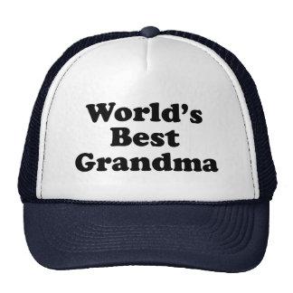 World's Best Grandma Hats