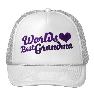 Worlds Best Grandma Hats