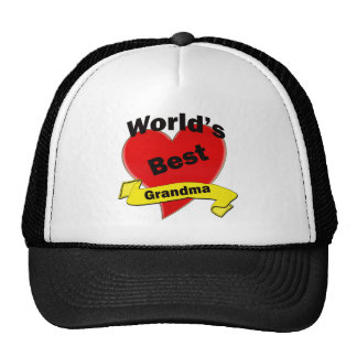 World's Best Grandma Mesh Hats
