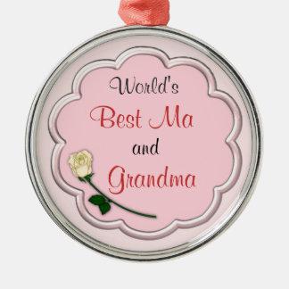 World's Best Grandma Ornament