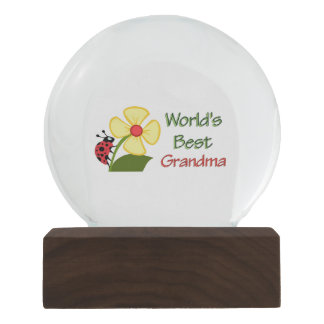 Worlds Best Grandma Snow Globe Snow Globes