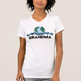 Worlds Best Grandma T-Shirt Tee Shirts