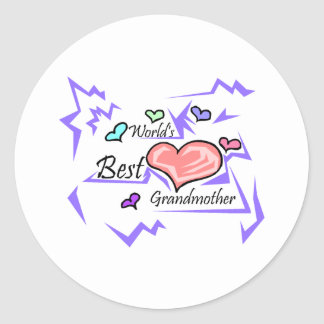 World's Best Grandmother Stickers