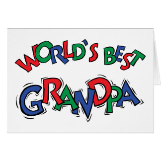 World's Best Grandpa Gift Cards