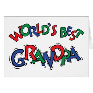 World's Best Grandpa Gift Cards