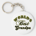 World's Best Grandpa Gifts and Apparel Key Chain