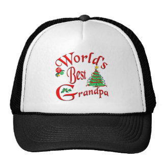 World's Best Grandpa Mesh Hats