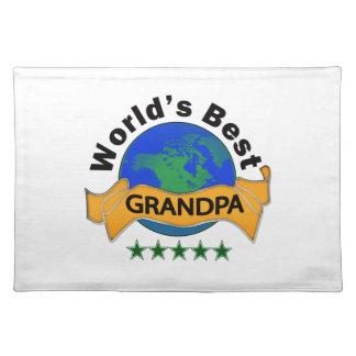 World's Best Grandpa Placemat