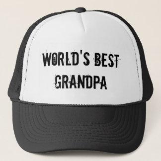 World's Best Grandpa Trucker Hat