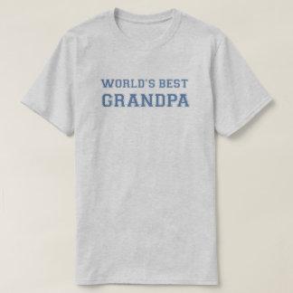 World's Best Grandpa Tshirts