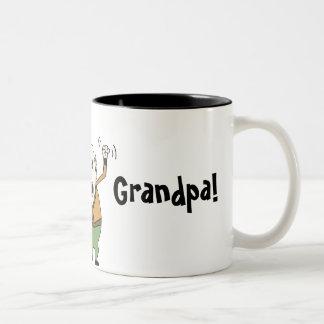 World's Best Grandpa! Two-Tone Coffee Mug
