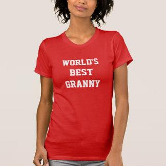 WORLD'S BEST GRANNY T SHIRTS