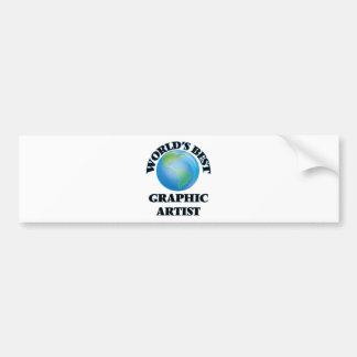 World's Best Graphic Artist Bumper Stickers