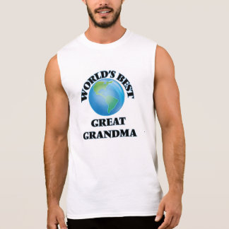 World's Best Great Grandma Sleeveless T-shirts