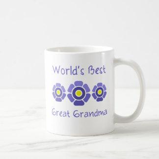 World's Best Great Grandmother Basic White Mug