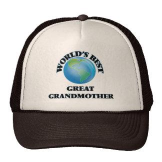 World's Best Great Grandmother Hat