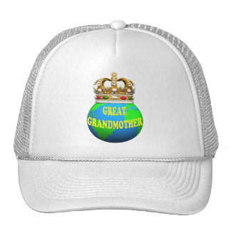 World's Best Great Grandmother Mothers Day Gifts Cap