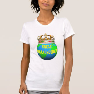 World's Best Great Grandmother Mothers Day Gifts Tees