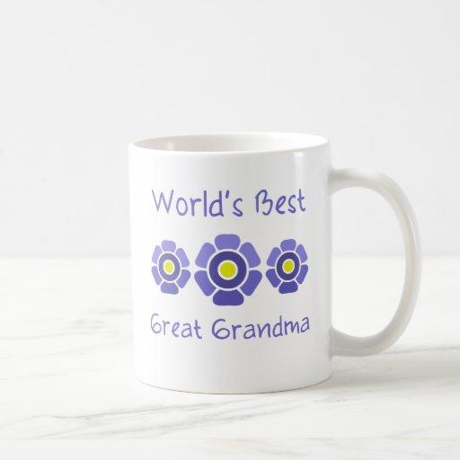 World's Best Great Grandmother Mugs