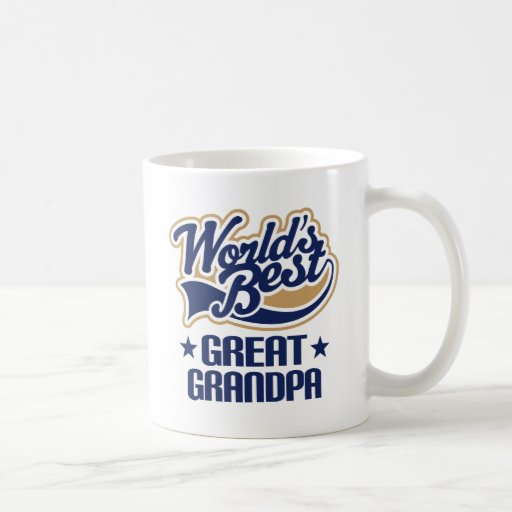 Worlds Best Great Grandpa Mugs
