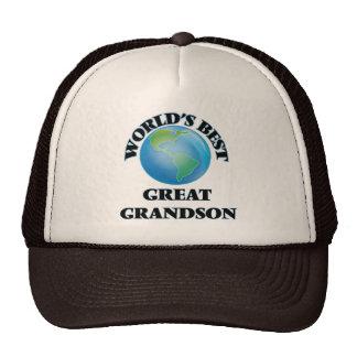 World's Best Great Grandson Trucker Hat