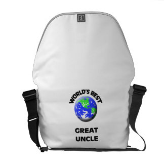 World's Best Great Uncle Courier Bags