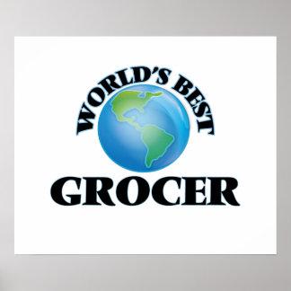 World's Best Grocer Print
