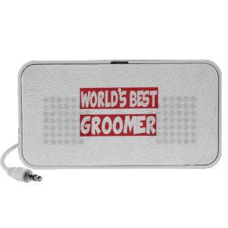 World's Best Groomer. Laptop Speakers