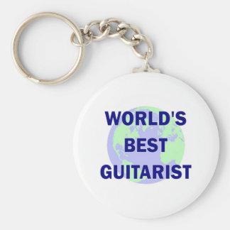 World's Best Guitarist Keychains