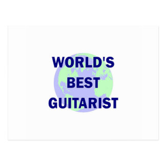 World's Best Guitarist Post Cards