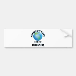 World's Best Hair Dresser Bumper Sticker