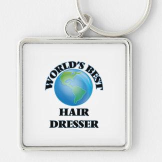 World's Best Hair Dresser Keychain