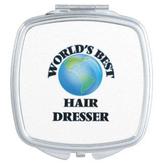 World's Best Hair Dresser Travel Mirrors