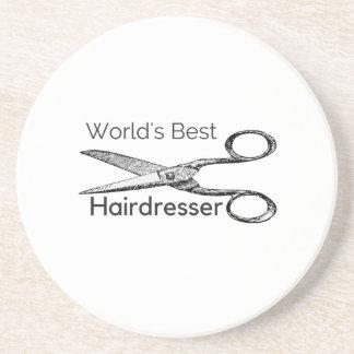 World's best hairdresser coaster