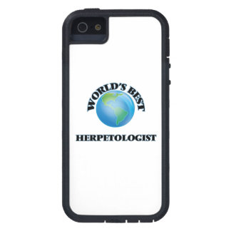 World's Best Herpetologist iPhone 5 Cover