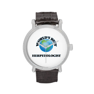 World's Best Herpetologist Wrist Watch