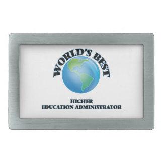 World's Best Higher Education Administrator Belt Buckles