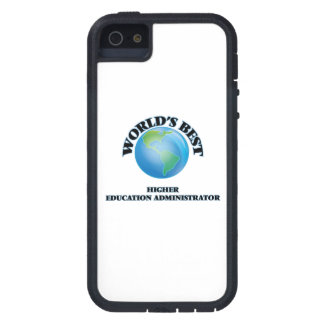World's Best Higher Education Administrator iPhone 5 Cases
