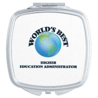 World's Best Higher Education Administrator Vanity Mirrors