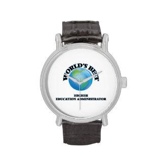 World's Best Higher Education Administrator Wrist Watch