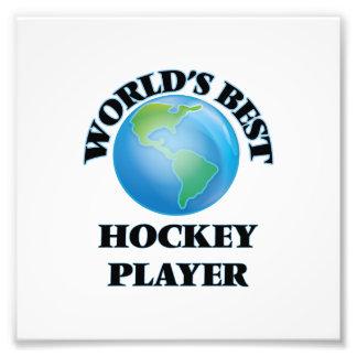 World's Best Hockey Player Photograph