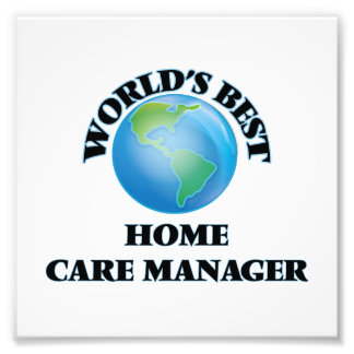 World's Best Home Care Manager Photo