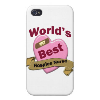 World's Best Hospice Nurse Case For iPhone 4