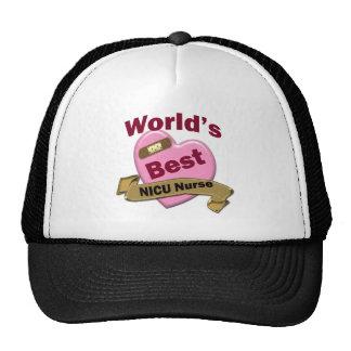 World's Best Hospice Nurse Mesh Hat