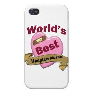 World's Best Hospice Nurse iPhone 4/4S Cases