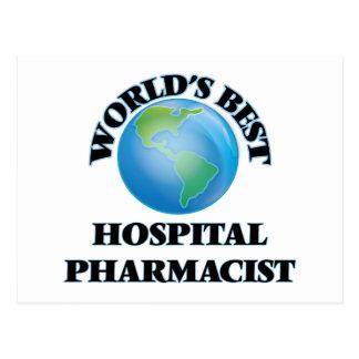 World's Best Hospital Pharmacist Post Card