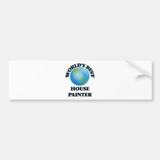World's Best House Painter Bumper Sticker