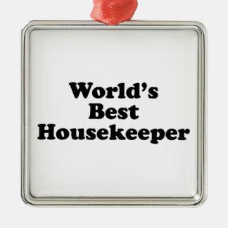 World's Best Housekeeper Christmas Ornament