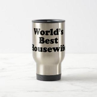 world's best housewife travel mug